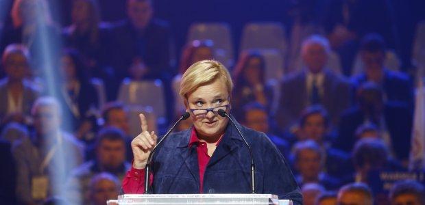 Konwencja PO: Przemówienie Rózy Thun (VIDEO)