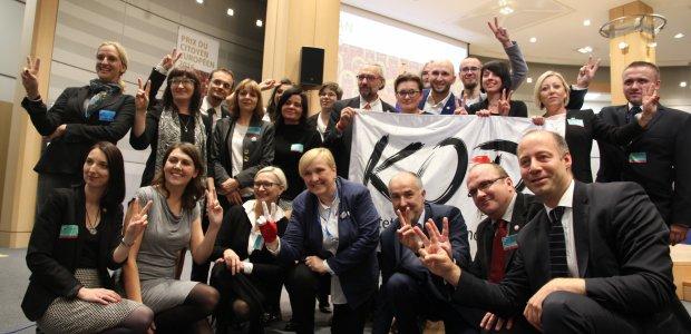 KOD odebrał nagrodę w Parlamencie Europejskim w Brukseli