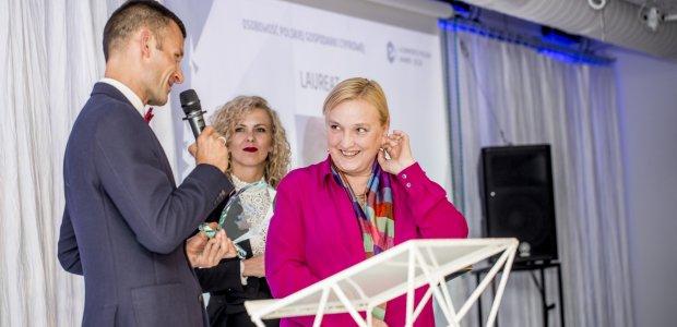 Róża Thun z tytułem Osobowość Roku Polskiej Gospodarki Cyfrowej