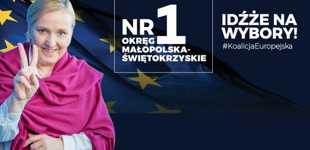 Róża Thun jedynką na liście Koalicji Europejskiej!