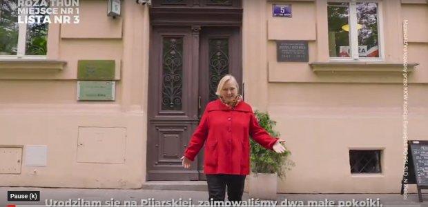 4 spot wyborczy: Urodziłam się na Pijarskiej