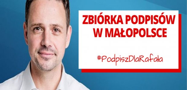 Podpisz dla Rafała!