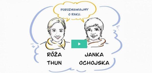 Rozmowa: Roża Thun i Janka Ochojska