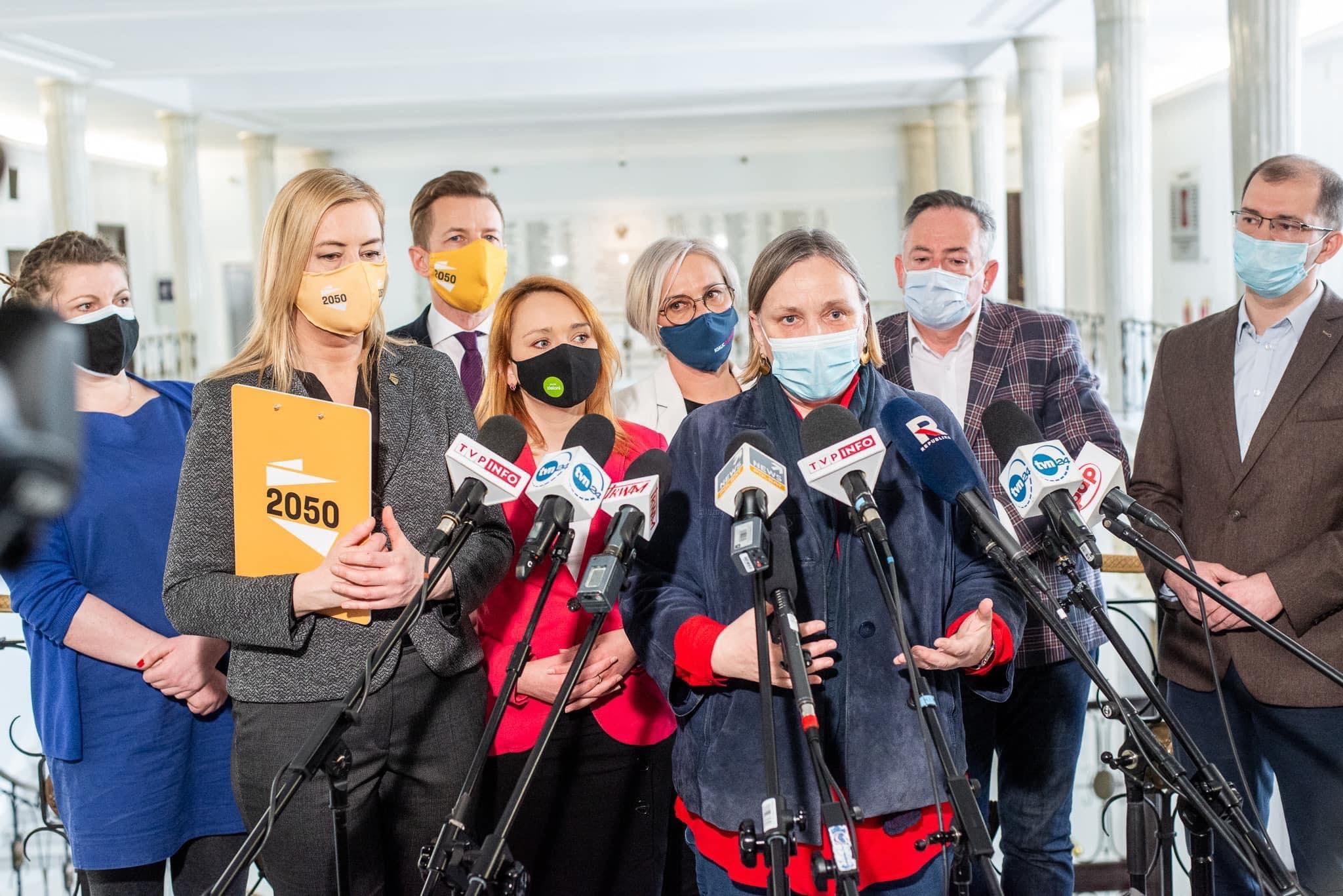 Róża Thun: protestujemy przeciwko planom zmniejszenia ŚPN